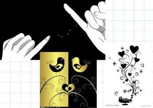 DIY相册素材 黑卡素材 素材