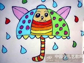 ...品名称 小猫 雨伞
