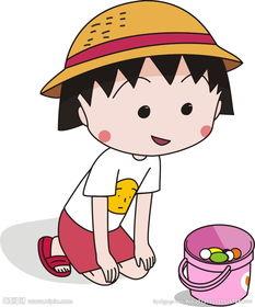 樱桃小丸子漫画-小丸子 卡通图片