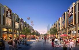一期服装大世界商铺效果图-佰昌武汉北电商批发城打造商业新巅峰