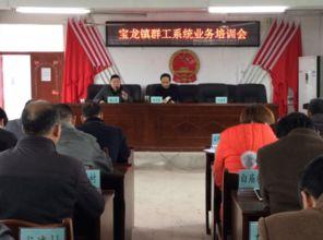 宝龙镇举办群工系统专题业务培训会