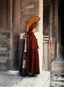 ...法国人镜头下的彩色中国,太珍贵了