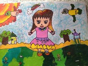 ...水粉画作品: 可爱 的 小女孩 ...可爱的小女孩图片欣赏_可爱的小女孩...