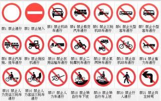 ...新闻排行TOP10-禁令标志 禁止或限制车辆 行人交通行为标志