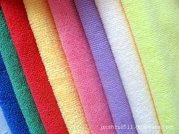 超纤维涤锦毛巾面料 -纺织皮革