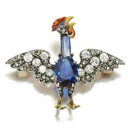 鸡元素珠宝成收藏时尚 你心动吗
