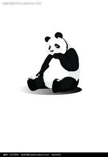 熊猫图片AI素材免费下载 编号2476054 红动网