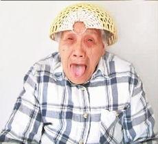 """转载夕阳外国老人老根 老伯-网友""""黎小泷""""说:""""必须支持这个中国第一潮外婆.""""李白M说:""""..."""