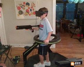 国外老太太第一次体验VR眼镜 惊叫不断