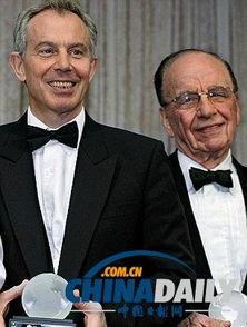 英国首相布莱尔年轻照片-英国前首相布莱尔否认与默多克离婚事件有...