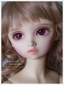美丽的SD娃娃