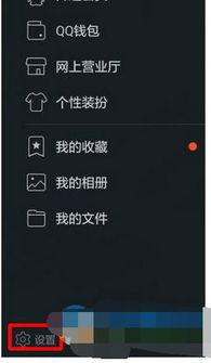 手机QQ中禁止自动接收图片的方法步骤