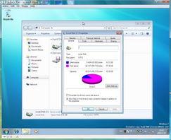 系统共占用6G左右的空间-Windows7 Build7068安装全过程及细节分析