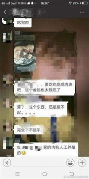 """城管队员微信群转发""""烹狗""""视频 遭停职调查-新闻"""