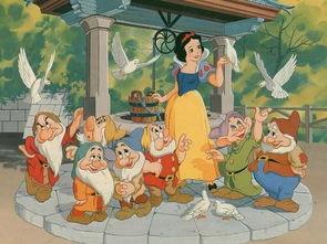 《白雪公主》动画版剧照-白雪公主 将被翻拍真人版 七小矮人变身强盗