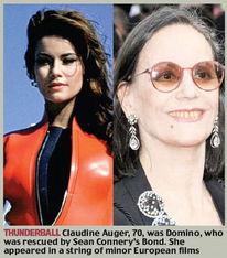 007系列电影50周年众邦女郎今昔照对比