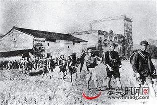 东江纵队在行军途中.历史图片-东莞