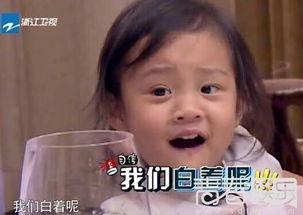 甜馨金句:我们白着呢-爸爸回来了第二季杜江变严父 甜馨嫌弃贾乃亮...