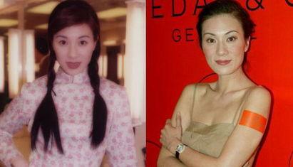 袁姗姗佘诗曼 长得丑却老演绝世美女的女星