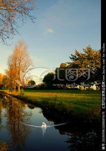 荷兰小城奈梅亨市田园风光