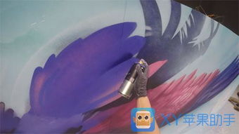 北京地铁站惊现玄鸟涂鸦 轩辕传奇手游 带你再遇神兽