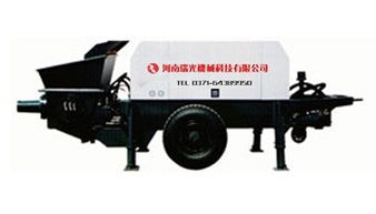 地泵厂家 地泵价格 混凝土地泵 瑞光机械规格型号及价格 烘干机 球磨机...
