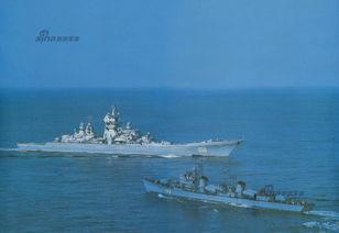 商路雄途-这张图的历史背景是伏龙芝号从波罗的海调往太平洋舰队途中,路过中...