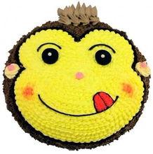 卡通猴生日蛋糕 生肖猴蛋糕 全国配送 北京蛋糕 北京网上订蛋糕
