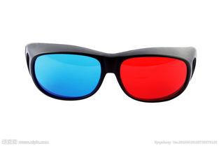 红蓝眼镜图片