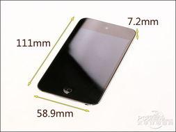 8.9t7.2mm,而touch 3的机身尺寸为110t61.8t8.5mm,两者的区别主要...