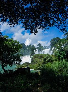 ...天跨国大瀑布】横跨中越两界的第二大瀑布-Cady丛欣欣