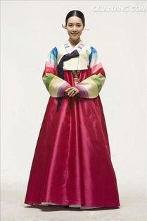 ...穿,传统,朝鲜服装