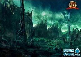 黑暗魔法的狂热追随者疯狂的涌入... 光明龙族和黑暗龙族曾经在这里展...