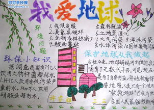 小学生关于保护环境的手抄报