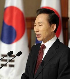 韩国现任总统 李明博