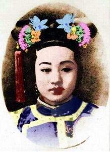 皇帝独宠的爱妃,历史照片告诉你到底有多美