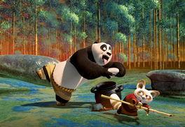 """敌胖熊猫!""""捧着大肚子,龇牙咧嘴的贫嘴大熊猫阿宝可不一般,当他..."""