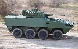 """漫画""""美国最新式战车""""-欧洲轮式战车发展的启示"""