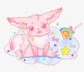七彩梦幻小动物插画图片素材 其他格式 下载 动漫人物大全