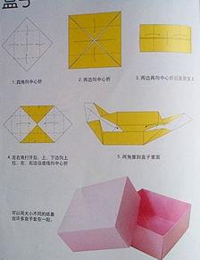 纸盒子怎么折/怎样折收纳纸盒子
