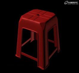 ...X制作塑料凳子建模教程