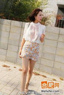 人体艺术丝袜-雪纺衫 包臀短裙 穿出高瘦美新闻频道