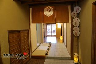 日本京都 感受日本传统民宿