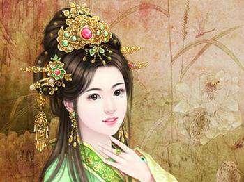 古典美女唯美古风图片 古典美女图片 唯美