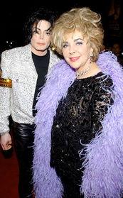 在天堂相聚 伊莉莎白泰勒与MJ的友谊笃深