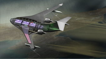 翼匣-洛.马新型翼身融合运输机方案曝光  加油机衍生型.