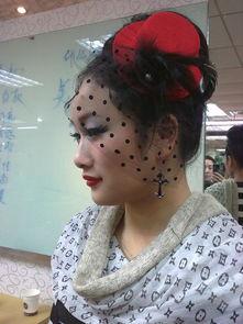 化妆师张丽 个人作品晚宴妆