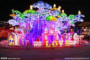 常州 元旦春节灯展图片