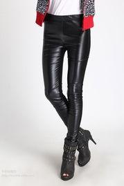 ...2春装新款女装皮裤