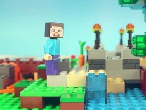 我的世界籽岷MC乐高玩具定格动画 史蒂夫兄弟